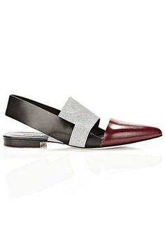 Alexander Wang flats, $595, alexanderwang.com. - HarpersBAZAAR.com #zapatos