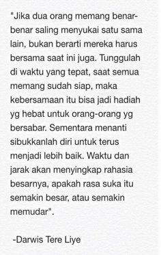 Quotes indonesia tere liye cinta 30 Ideas for 2019 Quotes Rindu, Text Quotes, Nature Quotes, Daily Quotes, Words Quotes, Funny Quotes, Life Quotes, Qoutes, People Quotes