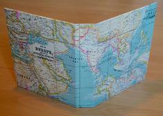 Archivador mapa mundi