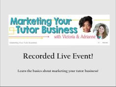 Starting a tutoring business and need to know some money basics?
