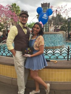 Carl and Ellie from Up DisneyBound Get Lost With Me