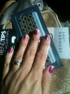 A manicure so easy, you can do it in the back of a moving car! http://thestir.cafemom.com/beauty_style/161131/the_diy_manicure_you_can?utm_medium=sm&utm_source=pinterest&utm_content=thestir