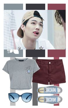"""Im Jaebum"" by tanbo ❤ liked on Polyvore featuring New Look, kpop, jb, Leader, imJaeBum and GOT7"