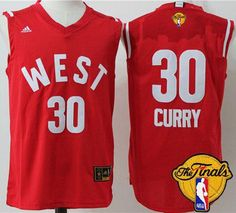 Warriors  30 Stephen Curry Red 2016 All Star The Finals Patch Stitched NBA  Jersey Warriors 8f5d48965