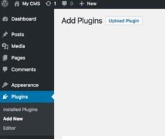 1. Go to plugin > add new     2. Select your plugin zip file, then click upload     3. Now your plugin is uploaded and activated, you should see this on your screen