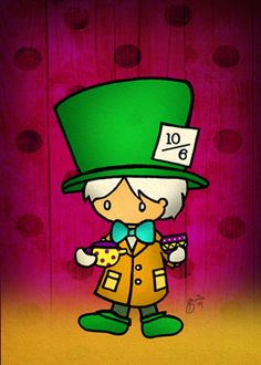Mad Mad Hatter by ~cippow25 on deviantART