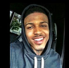 Love his smile!!!! (August Alsina)