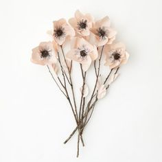 West Elm offers modern furniture and home decor featuring inspiring designs and colors. Create a stylish space with home accessories from West Elm. Pretty In Pink, Beautiful Flowers, Diy Paper, Paper Art, Paper Crafts, Zentangle, Cadeau Parents, Origami, Coffee Staining