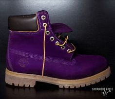 purple timberland boots - Google Search