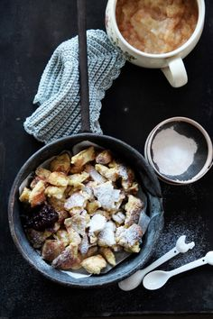fork and flower: kaiserschmarrn with apple sauce