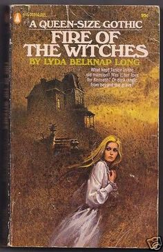 FIRE OF THE WITCHES Lyda Belknap Long GOTHIC 1971