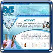 Organización:   Ampollas y Frascos Venezolanos, C.A.;   Ubicación:   Maracay;   Enlace:   http://www.ampofrasca.com;   Segmento:  Farmacia y Equipos Médicos;   Año:   2006