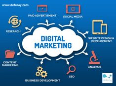 Drive the growth of your business with successful digital marketing services by partnering with us.   #digitalmarketingservices #onlinemarketing #socialmediamarketing #googleads #SMM #SEO #searchenginemarketing #emailmarketing #deforay #deforaytechnologies Best Digital Marketing Company, Digital Marketing Strategy, Digital Marketing Services, Content Marketing, Online Marketing, Marketing Companies, Marketing Institute, Media Marketing, Marketing Logo