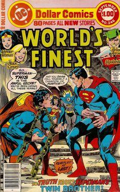 The 15 Worst Batman/Superman Stories Ever Told Superman Story, Batman And Superman, Superman Family, Dc Comic Books, Comic Book Covers, Comic Art, Action Comics 1, Dc Comics Superheroes, Graphic Novels