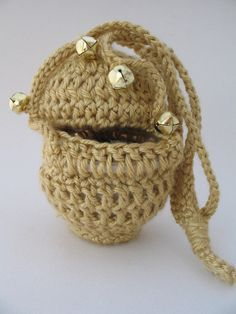 Here is the toy censer you have all been looking for! This unique item is hand-crocheted and both durable and child-friendly. Available at Cozy House Curios on Etsy.