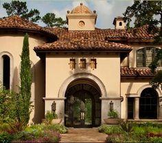 fachadas de casas mediterraneas - Buscar con Google