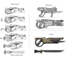 ArtStation - Rifle-Blade, Ben Girdwood
