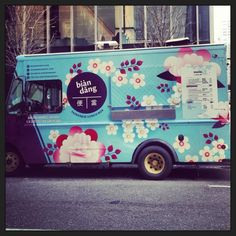 Happy #FoodTruck Friday! Check out @biandangnyc - one of the prettiest food trucks around!