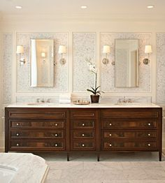 Gorgeous vanities!