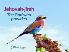 #Jehovah-Jireh - The #God who #provides