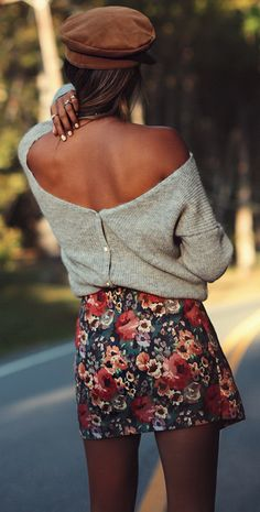 Floral Prints For Fall