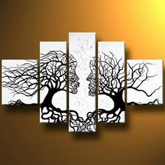 <li>Artist: Unknown </li> <li>Title: 'Deep Roots' </li> <li>Product type: Canvas Art </li>