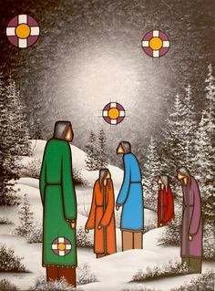 Leland Bell (Anishinabe from the Wikwemikong Unceded First Nation on Manitoulin Island, Ontario,) cousin to boot! Native American Artists, Native American Indians, Native Indian, Native Art, Alta Lakes, Manitoulin Island, Mexicans, Canadian Art, Indigenous Art
