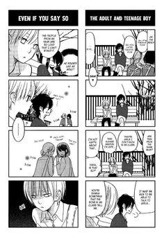 Tonari no kaibutsu kun manga