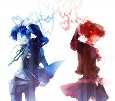 Persona 3 - Yuki Makoto and Minako Arisato