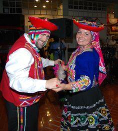 Valicha From Cusco Perú Folklore Peru My husband and I