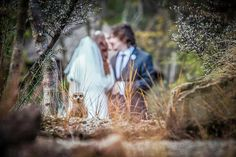 "This couple was going for a ""woodland fantasy"" look and a furry party-crasher got the memo.Have a photobomb of your own that you'd like to share? Upload your pic to BG's Facebook page or submit it to us via Instagram (be sure to include the hashtag"