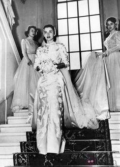 linda christian | Linda Christian el día de su boda con Tyrone Power en 1949: Fotos en ...