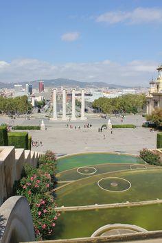 MNAC fountains - Barcelona