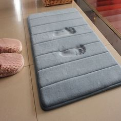 PVC Bath Mat Bathroom Safety Nonslip Suction Cups Carpet Bath - Non skid bath rug for bathroom decorating ideas