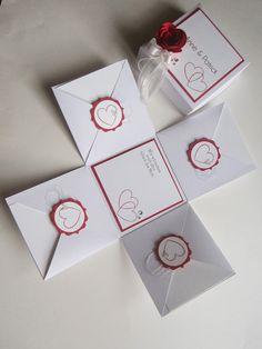 paperqueen: Explosionsbox zur Hochzeit