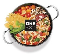 The One Pot Meal cooking concept is perfect for busy households who want to eat healthy without compromising on taste.  With The Rock One Pot dinner is on the table in 30 minutes or less and there is only one pot to clean! #Cookware #Starfrit #OnePot #Casserole #DutchOven
