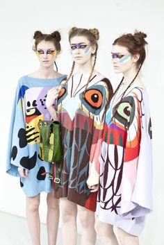 surrealist knit designs by Yang Du.