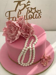 75 Birthday Cake, 75th Birthday, Vintage Cupcake, Birthdays, Desserts, Anniversaries, Tailgate Desserts, Deserts, Birthday