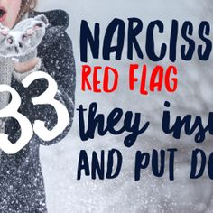 Red Flag of a Narcissist #33: They Like to Degrade or Humiliate You @tracyamalone