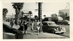 a 1940's shot of Hollywood