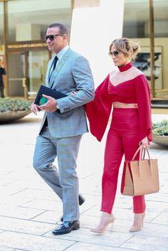 Jennifer Lopez и Alexander Rodriguez в Ньй-Йорке.