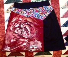 Colorado Avalanche Skirt with Tasmanian Devil logo