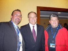 Daniel Gallardo, Dr. Gary Samuelson and Hubert Pifer
