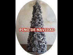 COMO HACER UN PINO DE NAVIDAD CON PIÑAS SUPER FACIL. - YouTube Youtube, Christmas, Ideas, Xmas, Rustic Christmas, Crafts To Make, Pizza Boxes, Navidad, Noel
