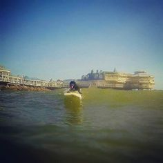 La de hoy en Instagram: Las olas son diversión para todos! #surf #Lima #Peru #learntosurf #surfinglessons #EndlessSummer #Miraflores #Makaha #surferdog - http://ift.tt/1K8gmug