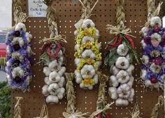 garlic braids 1.JPG 350×250 pixels