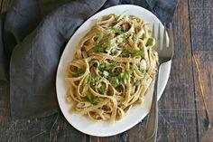 Vegan Alfredo Sauce - The perfect vegan alfredo sauce using Tofutti Better Than Cream Cheese Vegan Recipes, Cooking Recipes, What's Cooking, Vegan Meals, Healthy Dinners, Cooking Ideas, Pasta Recipes, Diet Recipes, Food Ideas