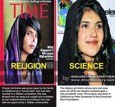 Religion vs. science, yeah sure, women are equal according to the koran, lemme know when that starts.