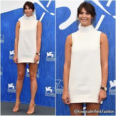 "204 Likes, 1 Comments - Keep Calm And Think Fashion (@keepcalmthinkfashion) on Instagram: ""Gemma Arterton in Ralph & Russo at the 73rd Venice Film Festival Jury Photocall. (📷 Daily Mail)…"""