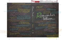 Really lovely personal 'Remember When...' yearbook spread. Theme:  Remember When